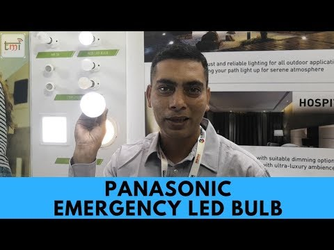 Panasonic Emergency LED Bulbs Coming Soon
