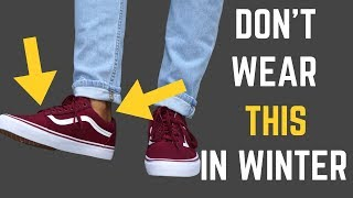 7 Things NO MAN Should Wear in Fall/Winter