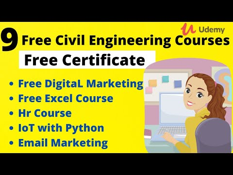 9 Best Free Online Courses With Certificates For Civil Engineering ...