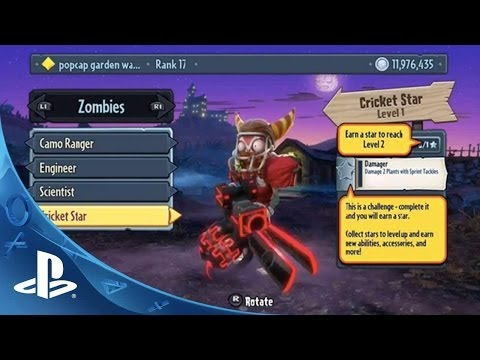 Plants vs. Zombies: Garden Warfare PS4 - gameplay a rozhovor