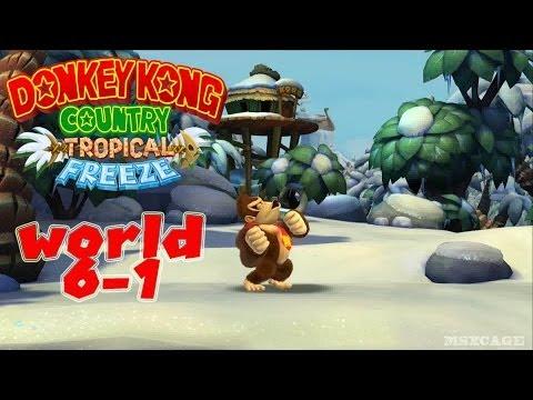 Donkey Kong Country Tropical Freeze Walkthrough - Donkey Kong ... on