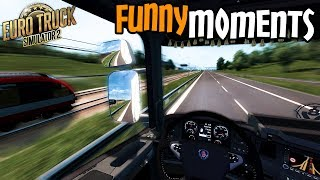 Euro Truck Simulator 2 Multiplayer Funny Moments & Crash Compilation #83
