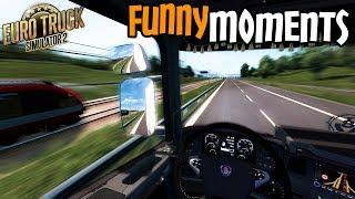 Euro Truck Simulator 2 Multiplayer Funny Moments & Crash Compilation #83