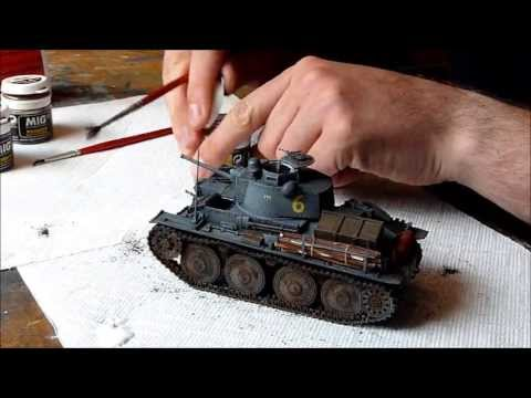 Dragon Panzerkampfwagen 38(t) Ausf. G in 1/35 scale building review Part III