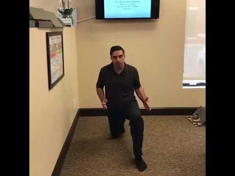 Hip Pain / Hip Flexor Stretch