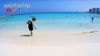 La Playa Más Famosa De Cancún - Aquí No Es Necesario Gastar Dinero @sebitastrip