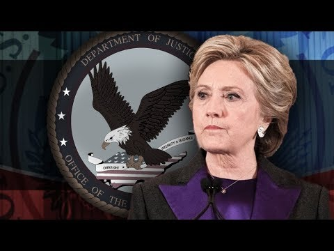 IG Report Allegedly Shows DOJ & FBI Broke the Law Protecting Hillary! Criminal Charges Possible!