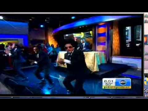 Mindless Behavior Performing on Good Morning America