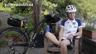Jana Doležalová - závod 1000mil - rozhovor před startem