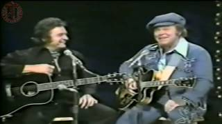 Roy Clark And Johnny Cash - Rock Island Line