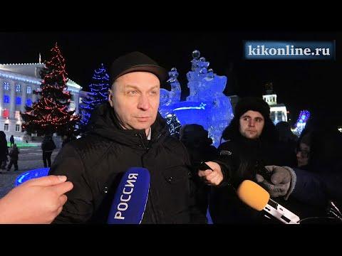 Пресс-тур по новогоднему украшению города