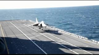 Nave Cavour, attività di volo