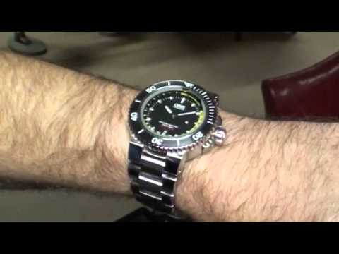 Oris Watch Review – Aquis Depth Gauge