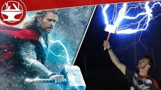 CATCHING LIGHTNING WITH THOR'S HAMMER