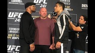Confira as encaradas do UFC 241