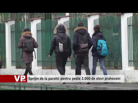 Sprijin de la parohii pentru peste 3.000 de elevi prahoveni
