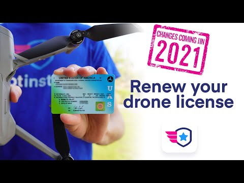 How to renew your drone pilot license in 2021 - YouTube