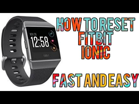 Fitbit Ionic factory reset - смотреть онлайн на Hah Life