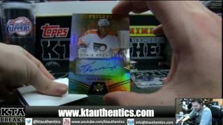 KTAuthentics - - 2016-17 Upper Deck Trilogy Hockey 1 hobby box break - 91redwings19