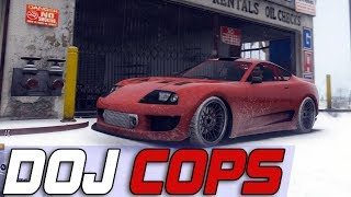 Dept. of Justice Cops #611- Snow Ricer Races