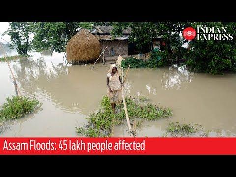 Assam Floods: 45 lakh people affected, famed Kaziranga National Park too inundated