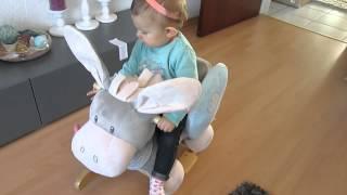 Produkttest: NATTOU Schaukeltier Esel | Babyartikel.de