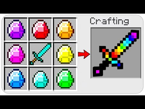 sword recipe minecraft