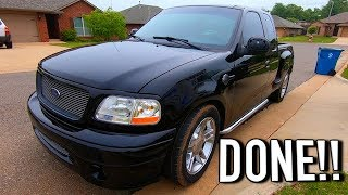 Copart $900 Ford F150 Harley Davidson - NEW PAINT + New House Tour