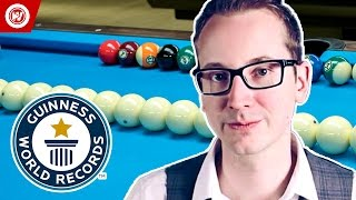 Guinness World Records | Pool Trick Shots