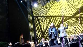 Antony and the Johnsons - Salt, Silver, Oxygen 2.06.2012 live @Hermitage Garden in Moscow