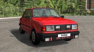 Škoda 130 - Crash Compilation & Testing - BeamNG Drive