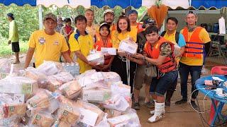 ตั๊กแตน ชลดา และทีมงานลงพื้นที่ช่วยภัยน้ำท่วมพี่น้องชาวอีสาน  ( คลิปเต็ม )