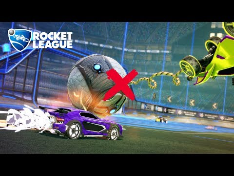 Rocket League rumble but we can't use any items