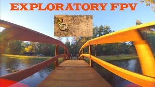 Exploratory freestyle; no flow, all GO - checking out a new spot    FPV Freestyle
