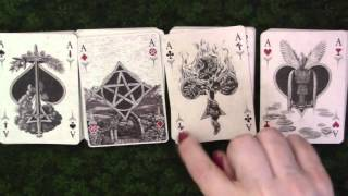 Arcana Tarot Playing Cards & Reading Playing Cards