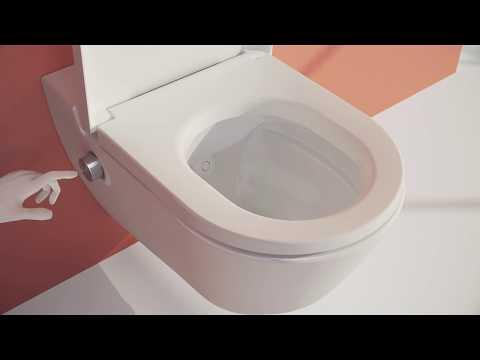 LAUFEN CLEANET NAVIA Dusch-WC - Die Montage
