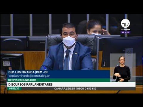 Plenário - Breves comunicados - Discursos Parlamentares - 03/12/2020 - 09:00