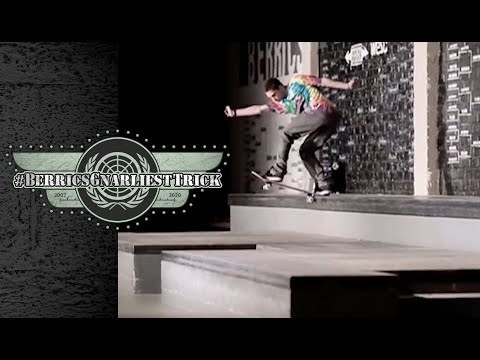 Torey Pudwill's Legendary Backside Tailslide   Berrics Gnarliest Trick