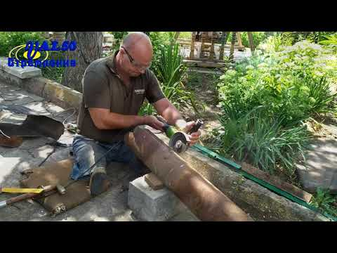 Как изготовить дымоход из металла своими руками