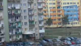 preview picture of video 'Lubin - osiedle Przylesie 11.11. 2012.'