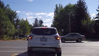 Life in Nanaimo BC Canada - Driving Around Residential Neighborhoods - Summer 2017
