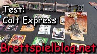 Test: Colt Express - Spiel des Jahres 2015 - Beispielrunde + Rezension + Fazit