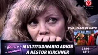 Duro De Domar  Multitudinario Adiós A Néstor Kirchner En Casa Rosada 281010