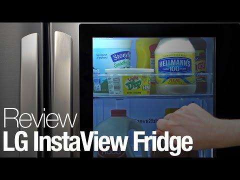 LG InstaView Refrigerator Review