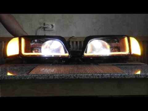 Audi S4 C4 LED daytime/turn signal switchback (with parking lights)