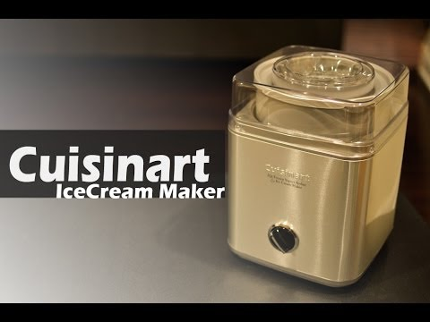 Video REVIEW: Ice Cream Maker - Cuisinart ICE-30BC