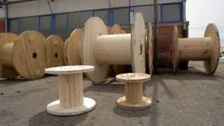 WOODEN CABLE DRUMS COMPLETE LINE
