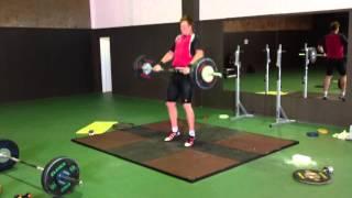 Weightlifting Speed test - Robert Harting - Julia Fischer - Christoph Harting