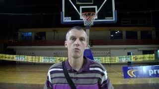 preview picture of video 'Przemysław Lewandowski o meczu Znicz Basket Pruszków - AZS Politechnika Poznań'