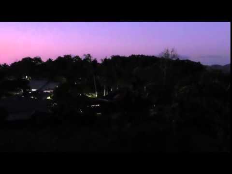 Balurebong Village Lights-Up at Night!